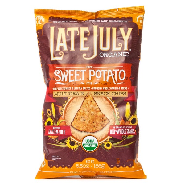 Late July Snacks How Sweet Potato It Is Multigrain Tortilla Chips
