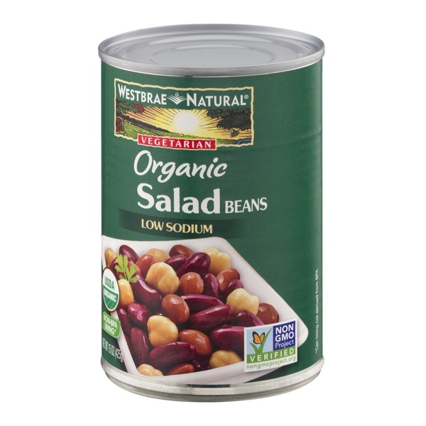Westbrae Natural Vegetarian Organic Salad Beans Low Sodium