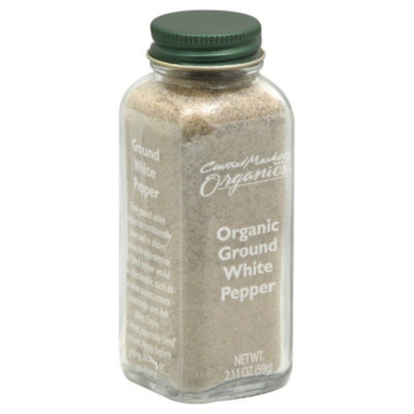 Central Market Organics Ground White Pepper