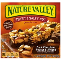 Nature Valley Sweet & Salty Nut Dark Chocolate Peanut & Almond Granola Bars