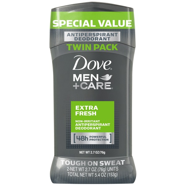 Dove Men+Care Extra Fresh Antiperspirant Deodorant Stick