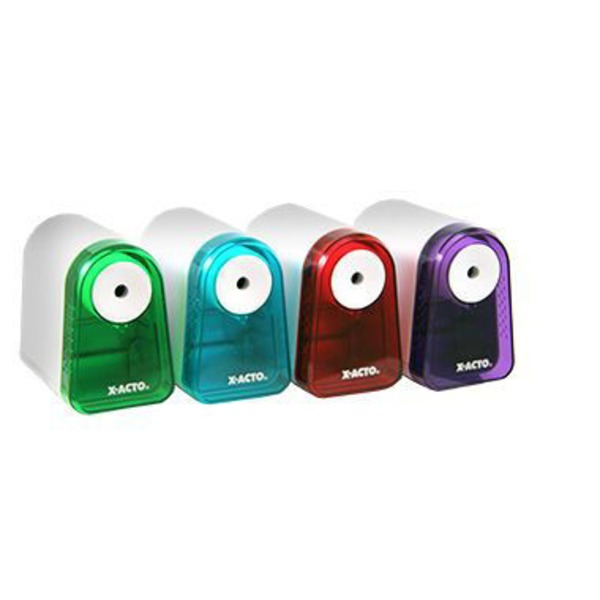 X-Acto Mighty Mite Battery Pencil Sharpener, Assorted Colors