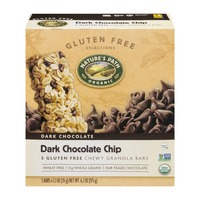 Nature's Path Organic Gluten Free Selections Dark Chocolate Chip Chewy Granola Bars - 5 CT