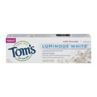 Tom's of Maine Toothpaste with Fluoride Luminous White Spearmint