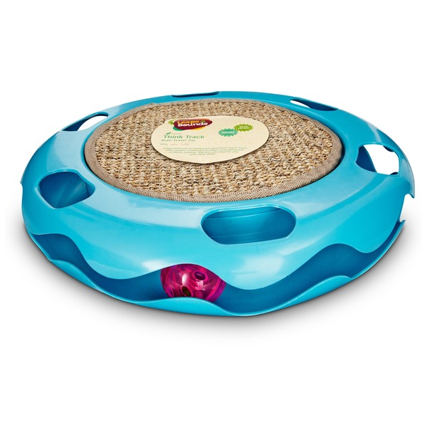 Leaps & Bounds Cat Track Cat Toy With Sisal Mat