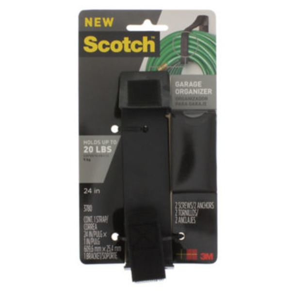 Scotch Garage Organizer Strap Black