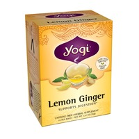 Yogi Lemon Ginger Tea Bags - 16 CT