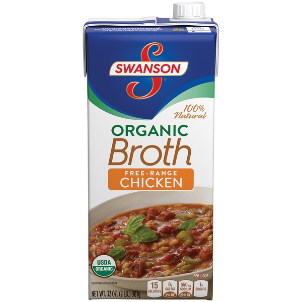 Swanson's Organic Free-Range Chicken Broth