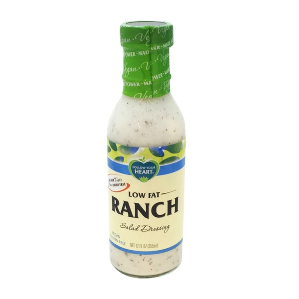 Follow Your Heart Low Fat Ranch Salad Dressing