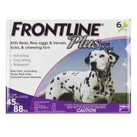 Frontline Flea Treatment Plus Pipettes For Large Dogs