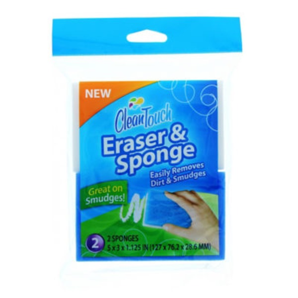 Clean Touch Eraser & Sponge