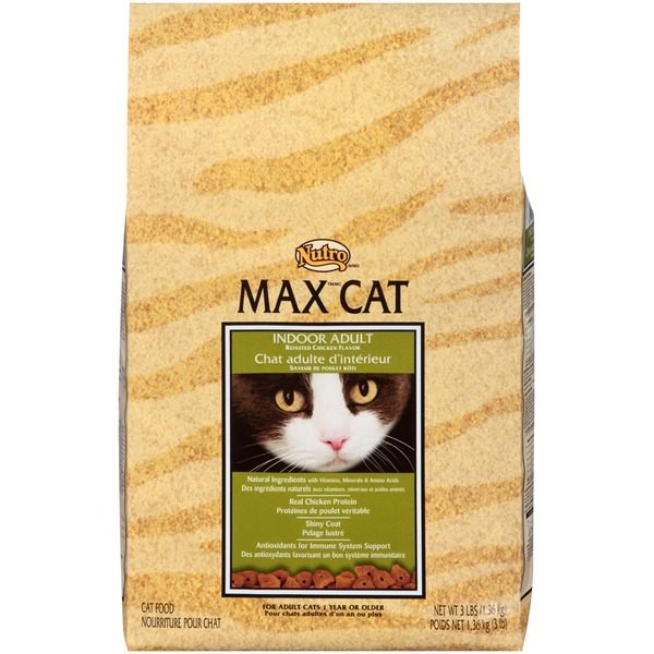 Nutro Max Cat Indoor Adult Roasted Chicken Flavor Cat Food