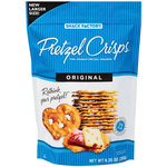 Pretzel Crisps Original Pretzel Crackers