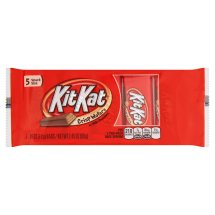 KitKat Crisp Wafers in Milk Chocolate, .49 oz, 5 count