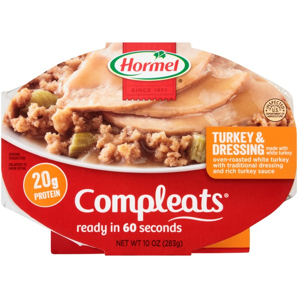 Hormel Turkey & Dressing Compleats