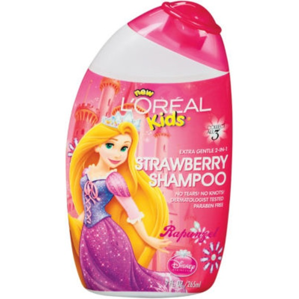 L'oréal Kids Disney Princess Rapunzel Strawberry 2-in-1 Shampoo