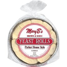 Mary B S Parker House Style Yeast Rolls 15 Count 14 Oz From