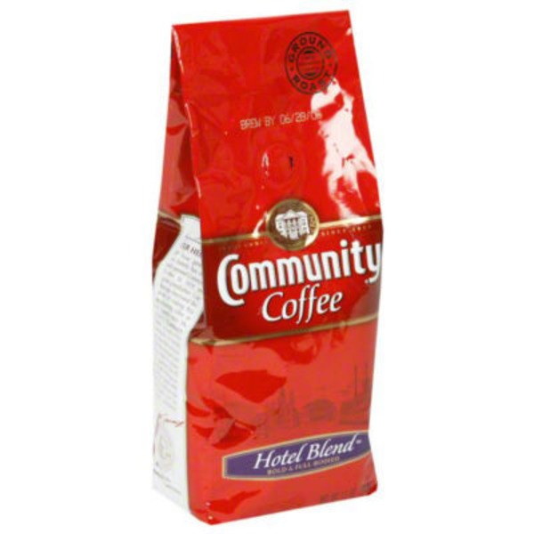 Community Coffee Coffee, Ground, Medium Roast, Hotel Blend