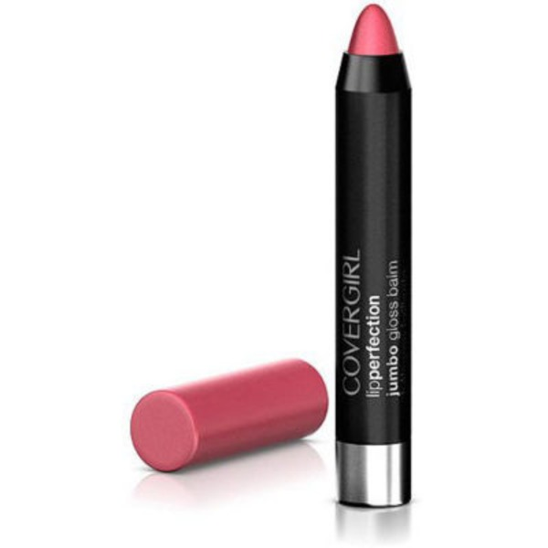 CoverGirl Colorlicious COVERGIRL Colorlicious Jumbo Gloss Balm Sheers, Blush Twist .13 oz (3.8 g) Female Cosmetics