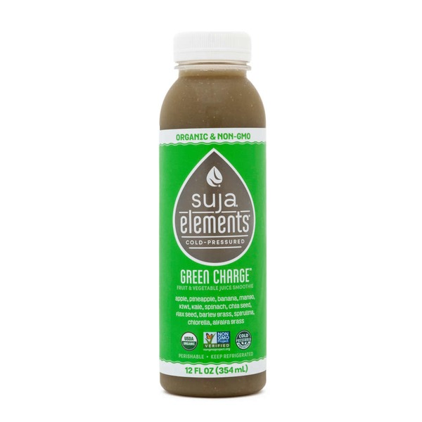 Suja Green Charge Vegetable Fruit Juice