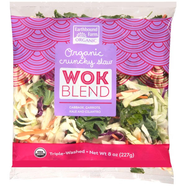 Earthbound Farm Organic Crunchy Wok Slaw Blend