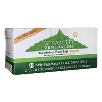 Seventh Generation 13 Gallon Drawstring Trash Bags