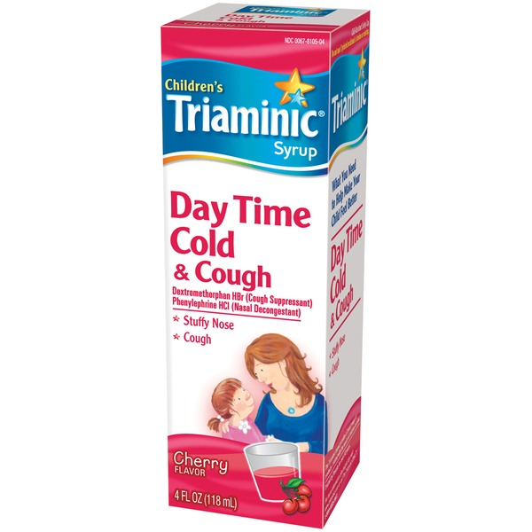 Triaminic Children's Day Time Cherry Flavor Cold & Cough Syrup