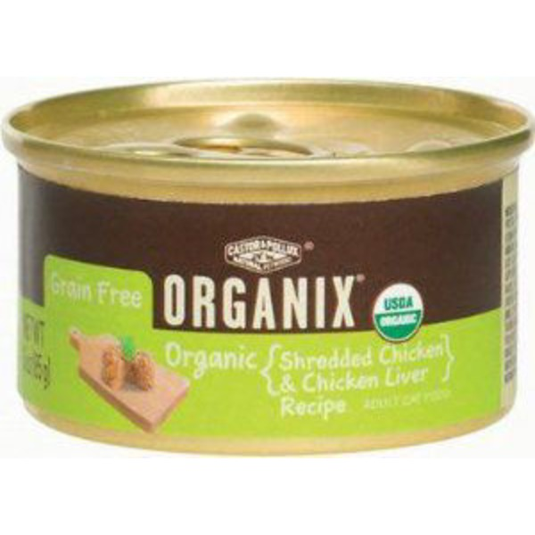 Organix Shredded Chicken & Chicken Liver Recipe