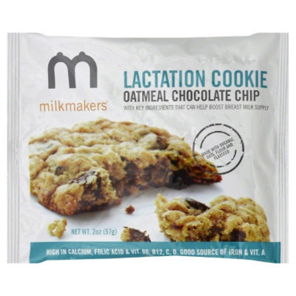Milkmakers Oatmeal Chocolate Chip Lactation Cookie
