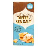Whole Foods Market Toffee & Sea Salt Milk Chocolate Bar