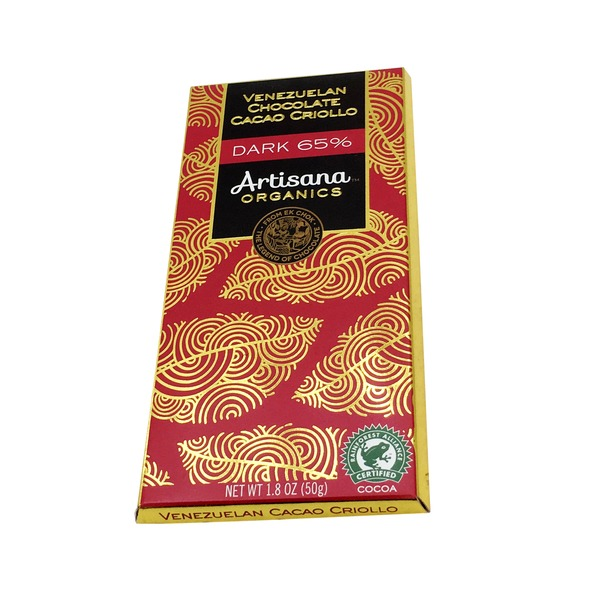 Artisana Criollo Dark Chocolate Bars 65%