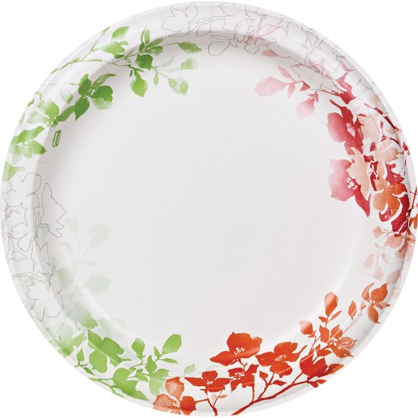 Dixie Ultra 10 Inch Wildflower Paper Plates