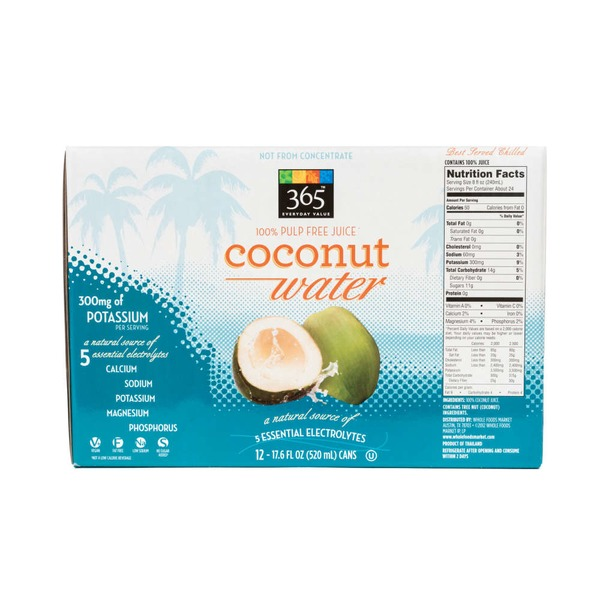 365 Coconut Water Pulp Free Juice