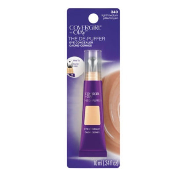 CoverGirl Olay Light/Medium 340 Depuffer