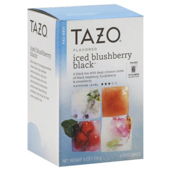 Tazo Tea Iced Blushberry Black Tea Bags
