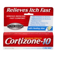 Cortizone-10 Maximum Strength Anti-Itch Creme with Healing Aloe