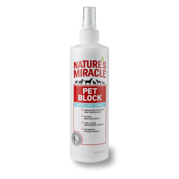 Nature's Miracle Pet Block Repellent Spray