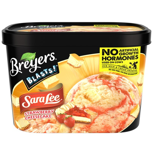 Breyers Sara Lee Strawberry Cheesecake Ice Cream
