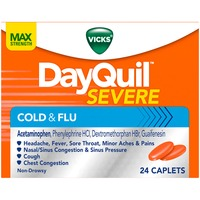 Vicks Severe Vicks DayQuil Severe Cold & Flu Relief Caplets 24 ct Respiratory Care