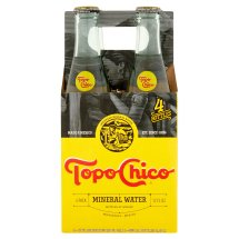 Topo Chico Mineral Water, 12 Fl Oz, 4 Count