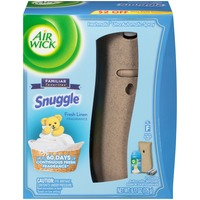 Air Wick Freshmatic Ultra Snuggle Fresh Linen Automatic Air Freshener Kit