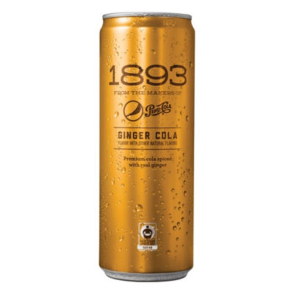 1893 Ginger Cola Soda