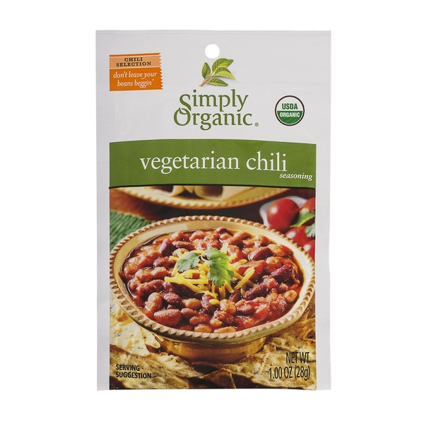 Simply Organic Vegetarian Chili Seasoning