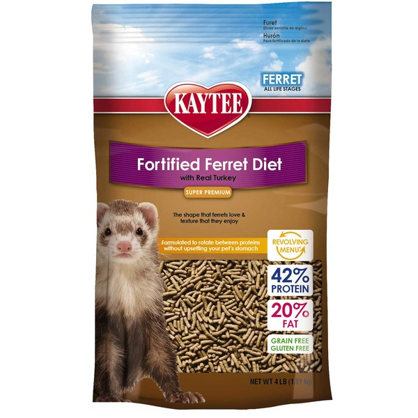 Kaytee Fortified Ferret Diet with Real Turkey
