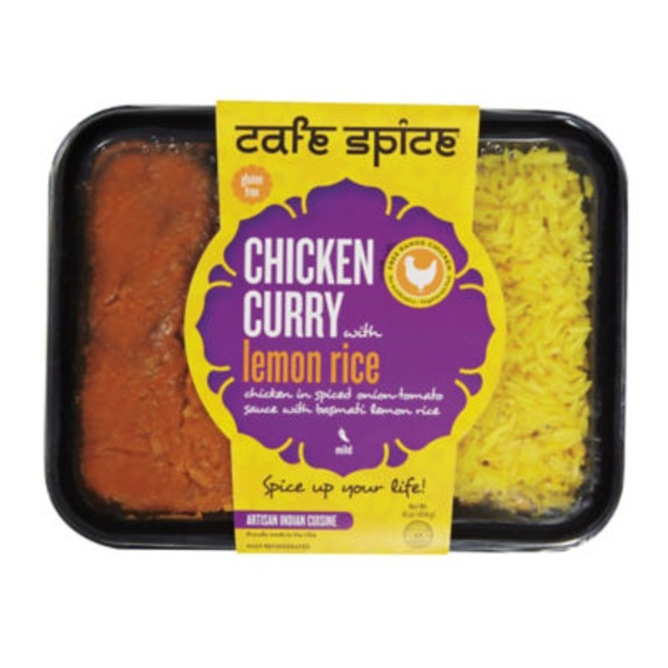 Cafe Spice Chicken Curry With Lemon Rice