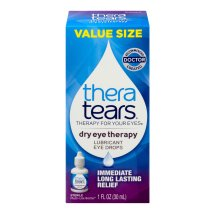 Thera Tears® Dry Eye Therapy Lubricant Eye Drops 1 fl. oz. Box