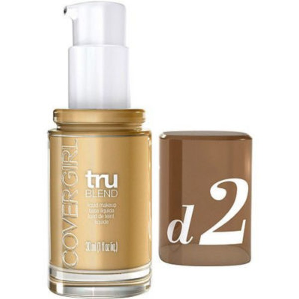 CoverGirl TruBlend COVERGIRL truBlend Liquid Foundation Makeup Sun Beige, 1 fl oz (30 ml) Female Cosmetics