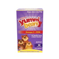 Yummi Bears Omega 3 + DHA Fruit Flavored Gummy Bears