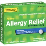 PL Developments Original Prescription Strength All-Day Allergy Relief 10mg Tablets, 14ct