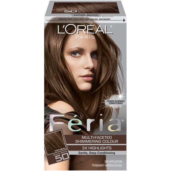 Feria Multi-Faceted Shimmering Colour Medium Brown 50 Hair Color
